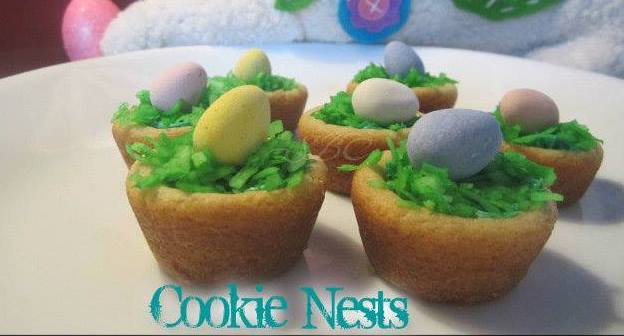 Mini Cookie Nests