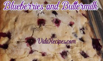 Breakfast Cake With Blueberries and Buttermilk Recipe