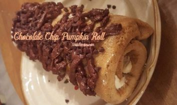 Chocolate Chip Pumpkin Roll