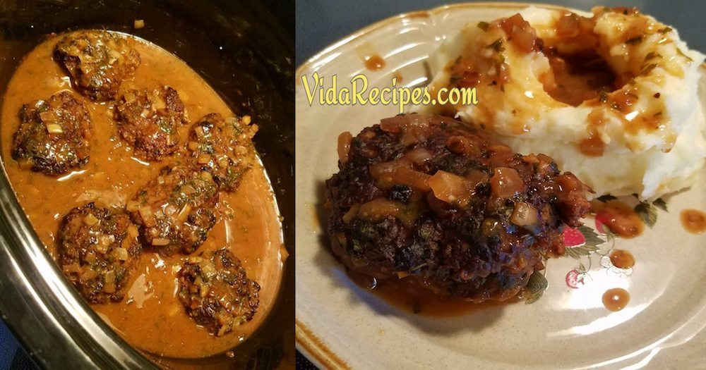 Crockpot Salisbury Steak Recipe