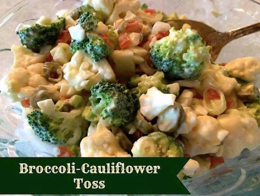 Broccoli Cauliflower Toss
