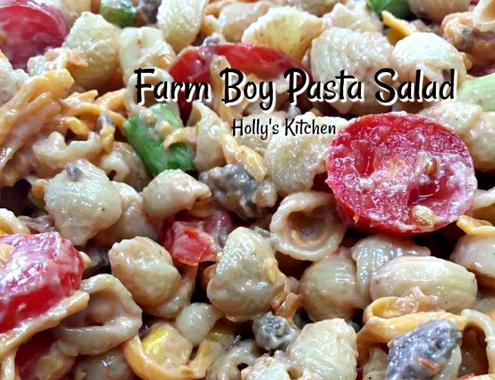 Farm Boy Pasta Salad
